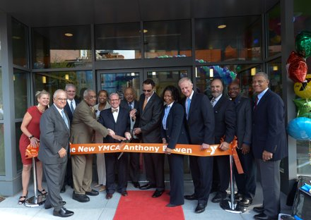 A ribbon-cutting ceremony for the newly refurbished Anthony Bowen YMCA in Northwest was held on Monday, Sept. 9.