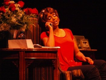 """Actress Debbi Morgan's one-woman play, """"The Monkey on My Back,"""" is a postscript to the lives of millions of children ..."""