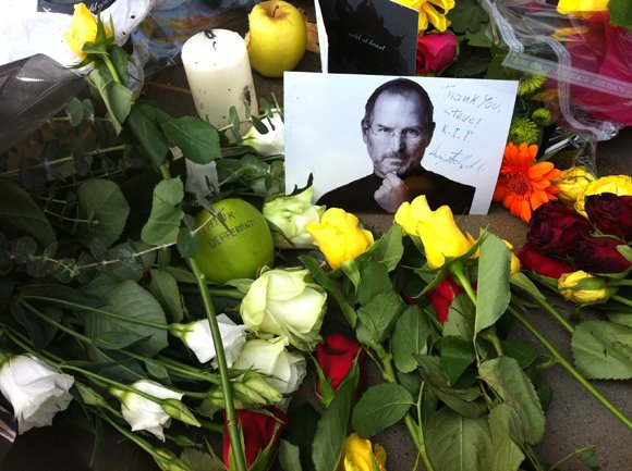 One of Steve Jobs' last gifts was left in a brown box and handed out at his memorial service.