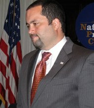 NAACP President Ben Jealous addresses the National Press Club on Monday, October 5
