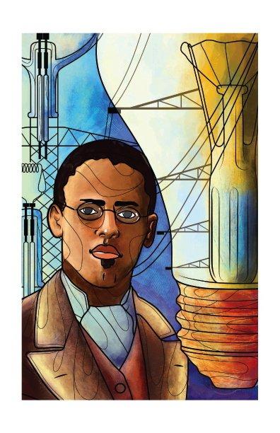Lewis Latimer, famed inventor.