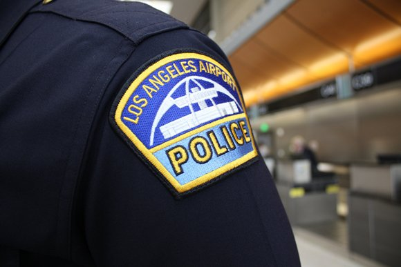 Local and federal agencies today investigated a dry-ice explosion in a Los Angeles International Airport employee toilet — a blast ...