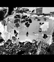 """Untitled XIII,"" 2002 pigment print by Rula Halawani."