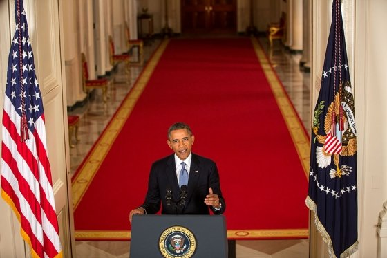 President Obama made the case for a military strike against the Syrian government.