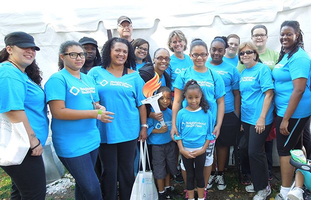 On Sept. 7, Neighborhood Health Plan joined the American Heart Association and thousands of participants on the Charles River Esplanade for the 2013 Boston Heart Walk. Every year, the Heart Walk raises funds and awareness to support the prevention and treatment of cardiovascular diseases and stroke.