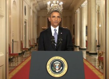 President Barack Obama addressed the nation Tuesday night during prime time, explaining his rationale as to why the U.S. should ...