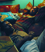 Ayodele (Isaach De Bankolé ) and Adenike (Danai Gurira)