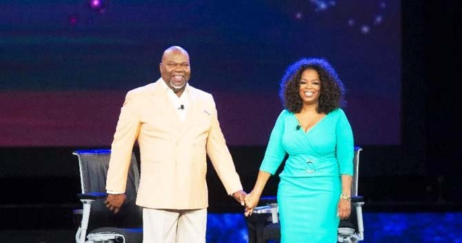 Oprah Winfrey, Bishop T D  Jakes tackle fatherlessness