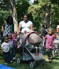Last year's Baby Buggy Walk in Druid Hill Park