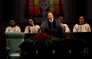 Brandon J. Dirden stars as the Rev. Dr. Martin Luther King Jr. in the upcoming play All the Way, about President Lyndon Baines Johnson's first year in office in 1964. The play also stars Bryan Cranston of Breaking Bad fame.