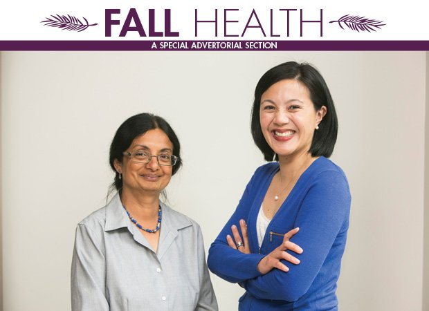 (L-R): Dr. Nandini Sengupta, medical director, and Dr. Holly Oh, The Dimock Center's chief medical officer.