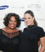 """Sherri Shepherd and Paula Garces, an actress from the  revival of """"All My Children"""" on Hulu and OWN and Lifetime's """"Devious Maids"""""""