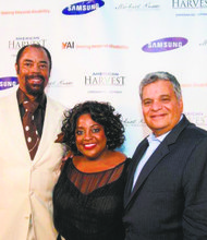 """Sherri Shepherd joins Walt """"Clyde"""" Frazier, broadcaster and former New York Knick, and Stephen E. Freeman, CEO of YAI, the organization that helped her developmentally disabled son when she moved toNew York City for her job with ABC-TV's """"The View."""""""