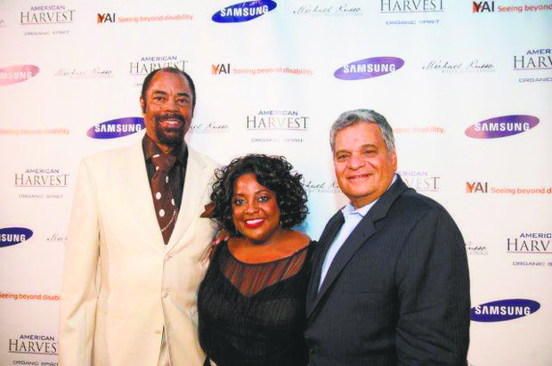 "Sherri Shepherd joins Walt ""Clyde"" Frazier, broadcaster and former New York Knick, and Stephen E. Freeman, CEO of YAI, the organization that helped her developmentally disabled son when she moved to New York City for her job with ABC-TV's ""The View."""