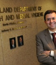 Department of Mental Health and Hygiene Secretary Dr. Joshua Sharfstein