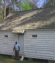 On Monday, September 23, Joseph McGill, Jr., Program Officer at the National Trust for Historic Preservation, will share his experience of staying at slave sites for the Slave Dwelling Project.