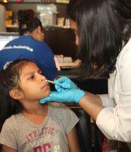 Flu vaccine administered as a spray
