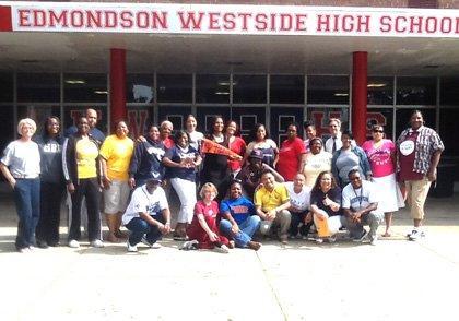 Edmondson-Westside High observes College Colors Day   The ...