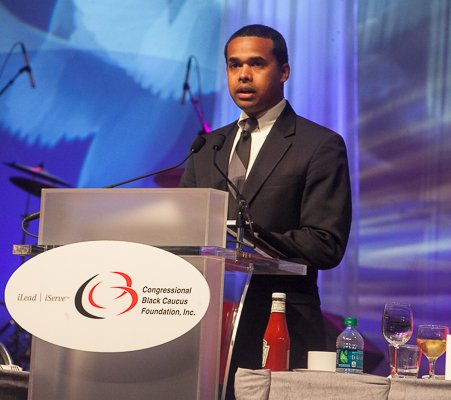 Paul Monteiro represented the White House at the ALC 2013 Prayer Breakfast held at the Walter E. Washington Convention Center on Saturday, Sept. 21, offering greetings from President Obama.