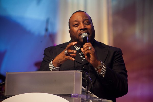 Pastor Marvin L. Sapp is the featured speaker at the ALC 2013 Prayer Breakfast held at the Walter E. Washington Convention Center on Saturday, Sept. 21.
