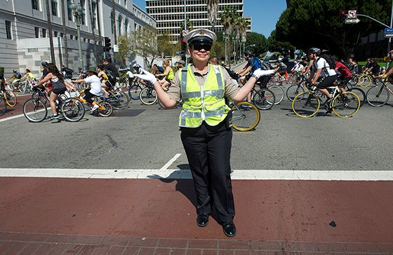 CicLAvia, the group that clears the streets for bicycle riders, skaters and walkers, was awarded a $500,000 grant by the ...
