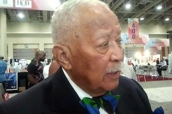 Former New York City Mayor David Dinkins, in town for the Congressional Black Caucus Foundation's 43rd Annual Legislative Conference, weighed ...