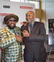George Clinton and Nelson George