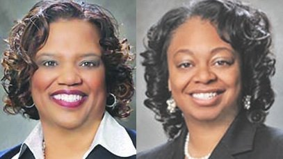 Prince George's County Council Members Ingrid Turner and Karen R. Toles were among the more than 100 state public officials ...