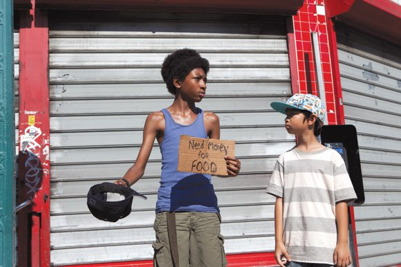 """Skylan Brooks stars as Mister and Ethan Dizon as Pete in """"The Inevitable Defeat of Mister & Pete."""""""