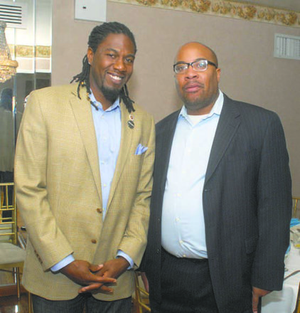 Jumaane Williams and Bill Lynch III