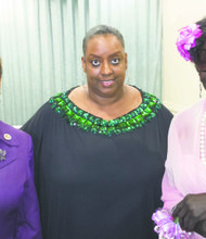L to R: Recently elected Speaker of the House Inez Dickens; Melba Wilson, owner of Melba's Restaurant; and Lucille Singleton