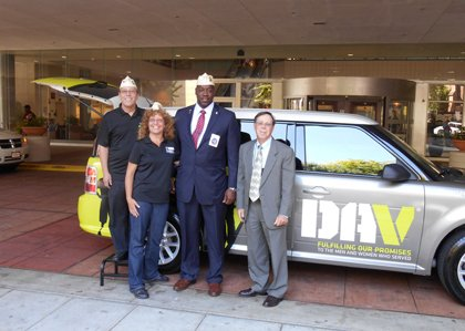The Disabled American Veterans (DAV) organization has donated two Ford vans to the VA Maryland Health Care System for its ...