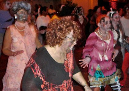 """Dance Baltimore instructors will teach the steps to one of the most popular videos of all time, """"Thriller"""" throughout the months of September and October with a final performance set for Halloween night, October 31, 2013."""