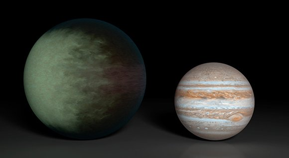 Astronomers using data from NASA's Kepler and Spitzer space telescopes have created the first cloud map of a planet beyond ...