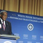 George E. Cooper, executive director of the White House Initiative on Historically Black Colleges and Universities says that HBCUs must engage federal agencies.