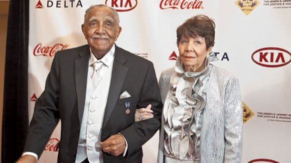 A series of public tributes were held this week in Atlanta to celebrate the life of civil rights activist Evelyn ...