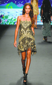 Spring 2014 designs by Anna Sui