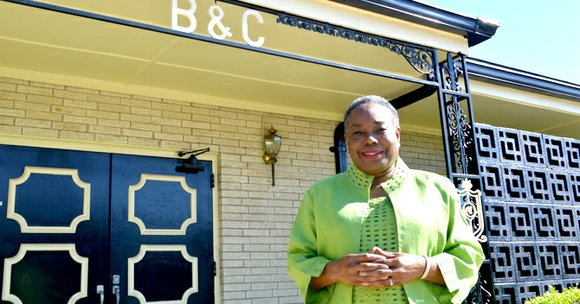 """It's rare that a business makes 100 years,"" said Linda Mitchell, president and CEO of Black and Clark Funeral Home, ..."