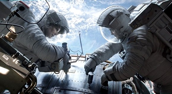 "As far as fans are concerned, ""Gravity"" is out of this world. The Sandra Bullock/George Clooney space thriller set an ..."