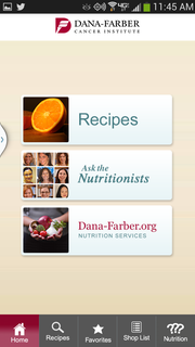 Dana-Farber Cancer Institute's Ask the Nutritionist: Recipes for Fighting Cancer