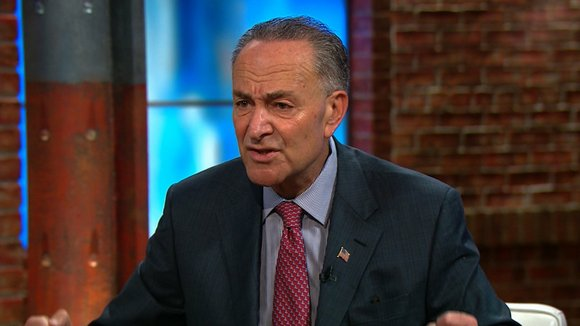Chuck Schumer is set to get a big promotion -- and that's welcome news to Wall Street.