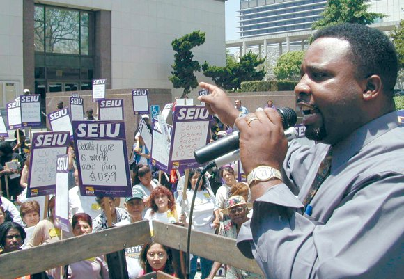 A former head of one of the nation's largest union locals was sentenced today to nearly three years in federal ...