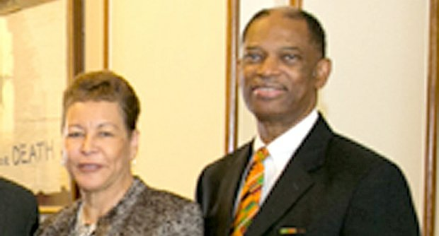 Pastor S. Dianna Masters and her husband, Senior Pastor Dr. Henry L. Masters – Photo courtesy of