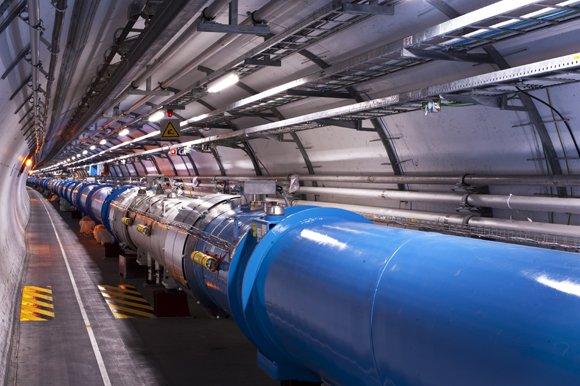 "The Higgs boson, or the ""God particle,"" which was discovered last year, garnered two physicists the Nobel Prize in physics ..."