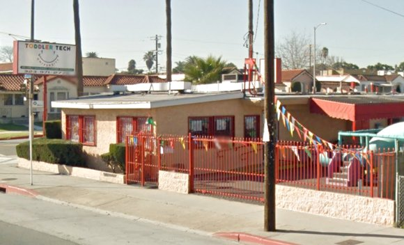 A motorist crashed a vehicle into a building housing a small private school in South Los Angeles today, leaving two ...