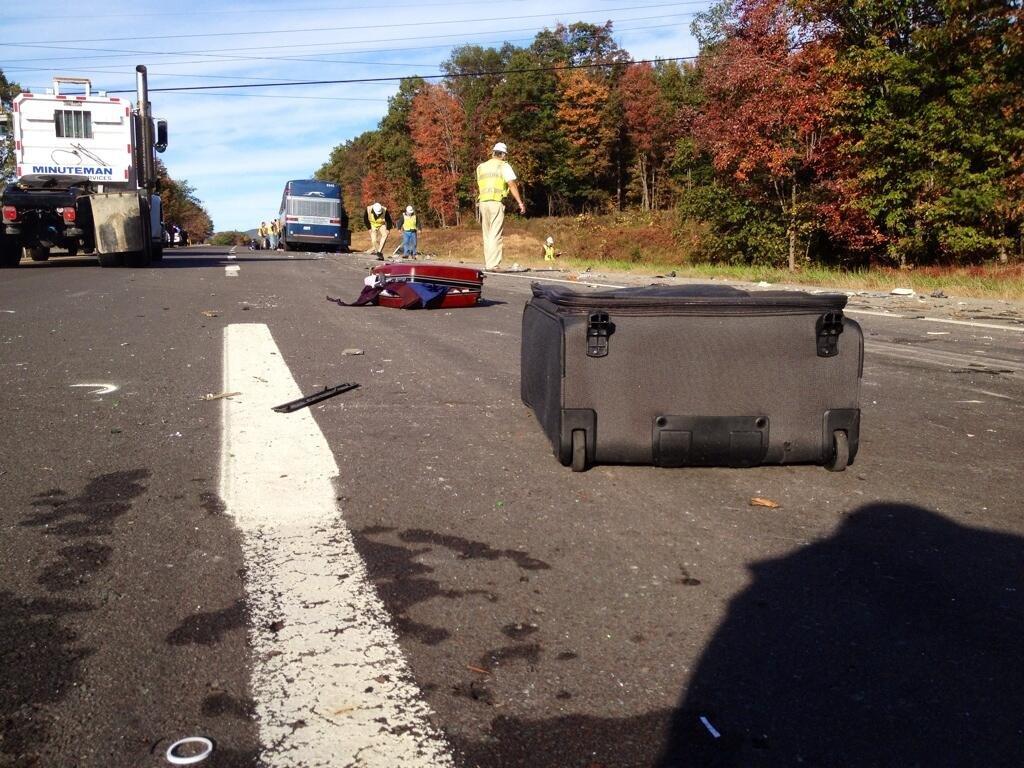 1 dead, dozens injured in Pennsylvania bus accident