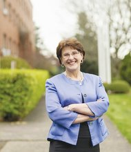 Warner Pacific College President Andrea Cook has been named a 'Hero of the Heart' for her work to provide equitable access to higher education in Portland.
