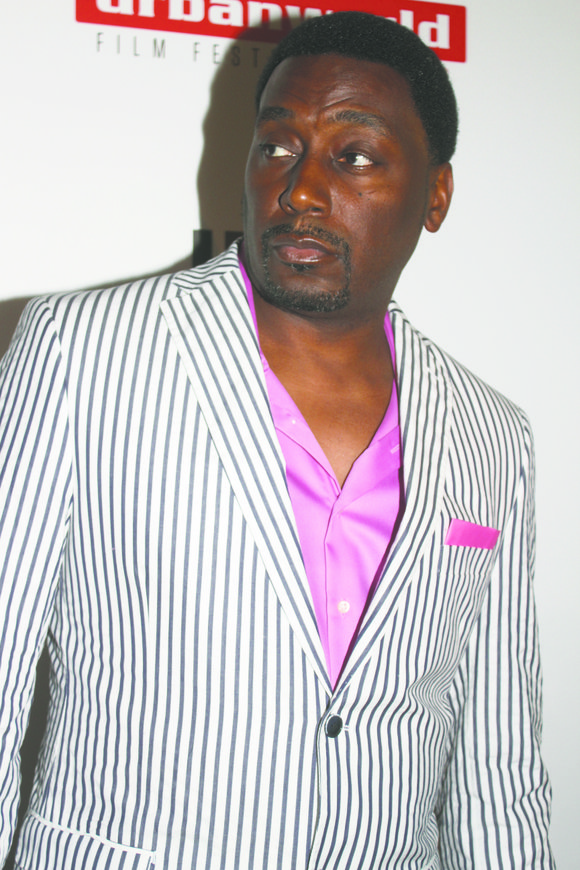 Rapper Antonio Hardy, better known as Big Daddy Kane, is being inducted into the Brooklyn Botanic Garden's Celebrity Path during ...