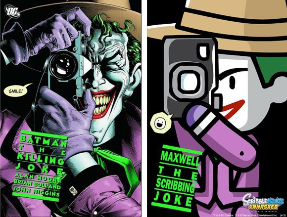 "In ""Scribblenauts Unmasked,"" the covers of classic comics are reworked as part of the story. From 1988, ""Batman: The Killing Joke"" was a graphic novel, featuring the Joker, that saw the classic franchise take a darker turn."