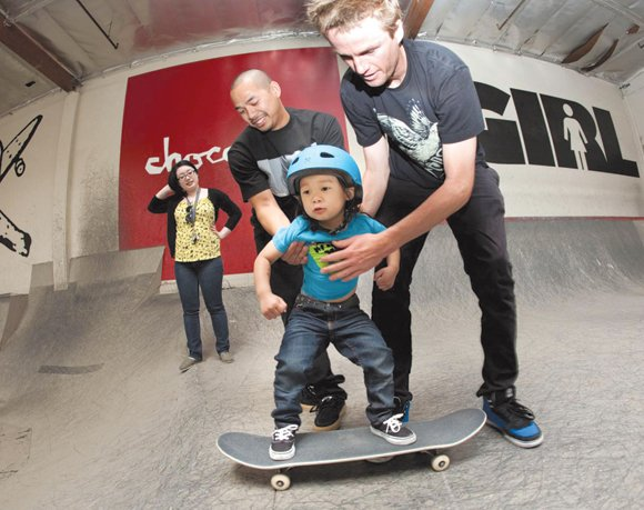 The city of Palmdale's Marie Kerr Skate Park, located at 39700 30th St. West, will host a free skateboard clinic ...